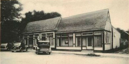 The first Brown County Art Gallery · circa 1940