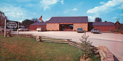 Brown County Art Gallery · circa 1960
