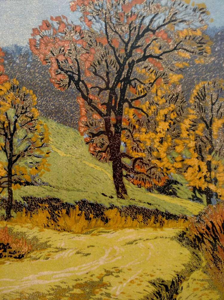 The Road of a Morning by Gustave Baumann