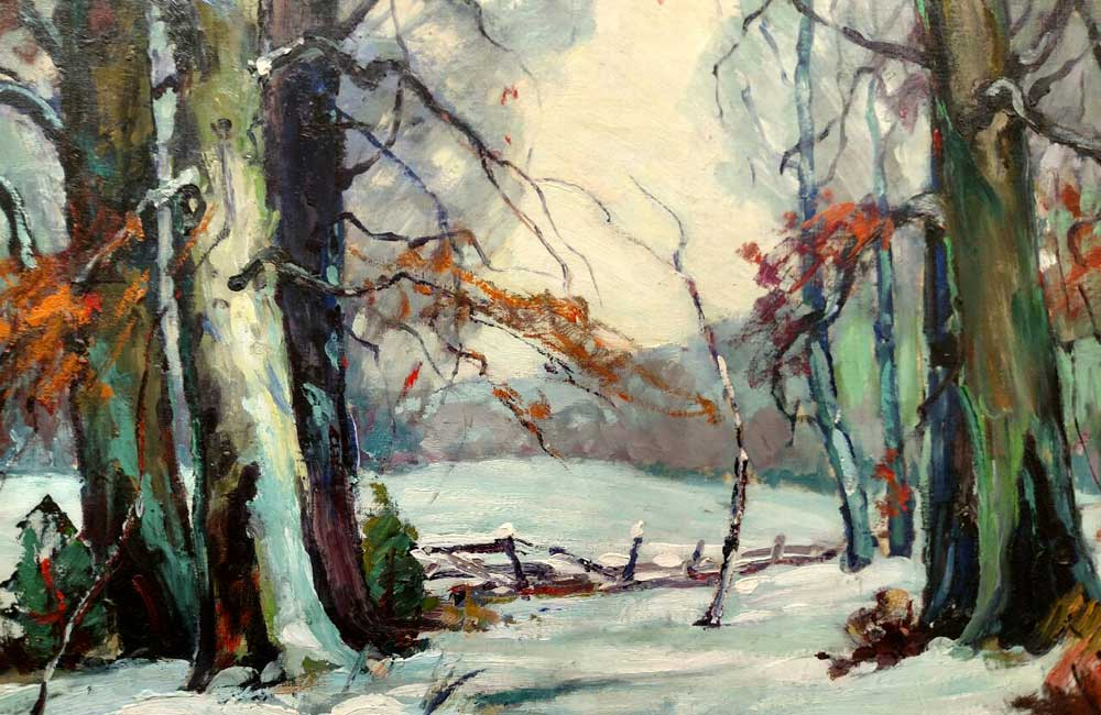 Woodland Silence by Georges LaChance